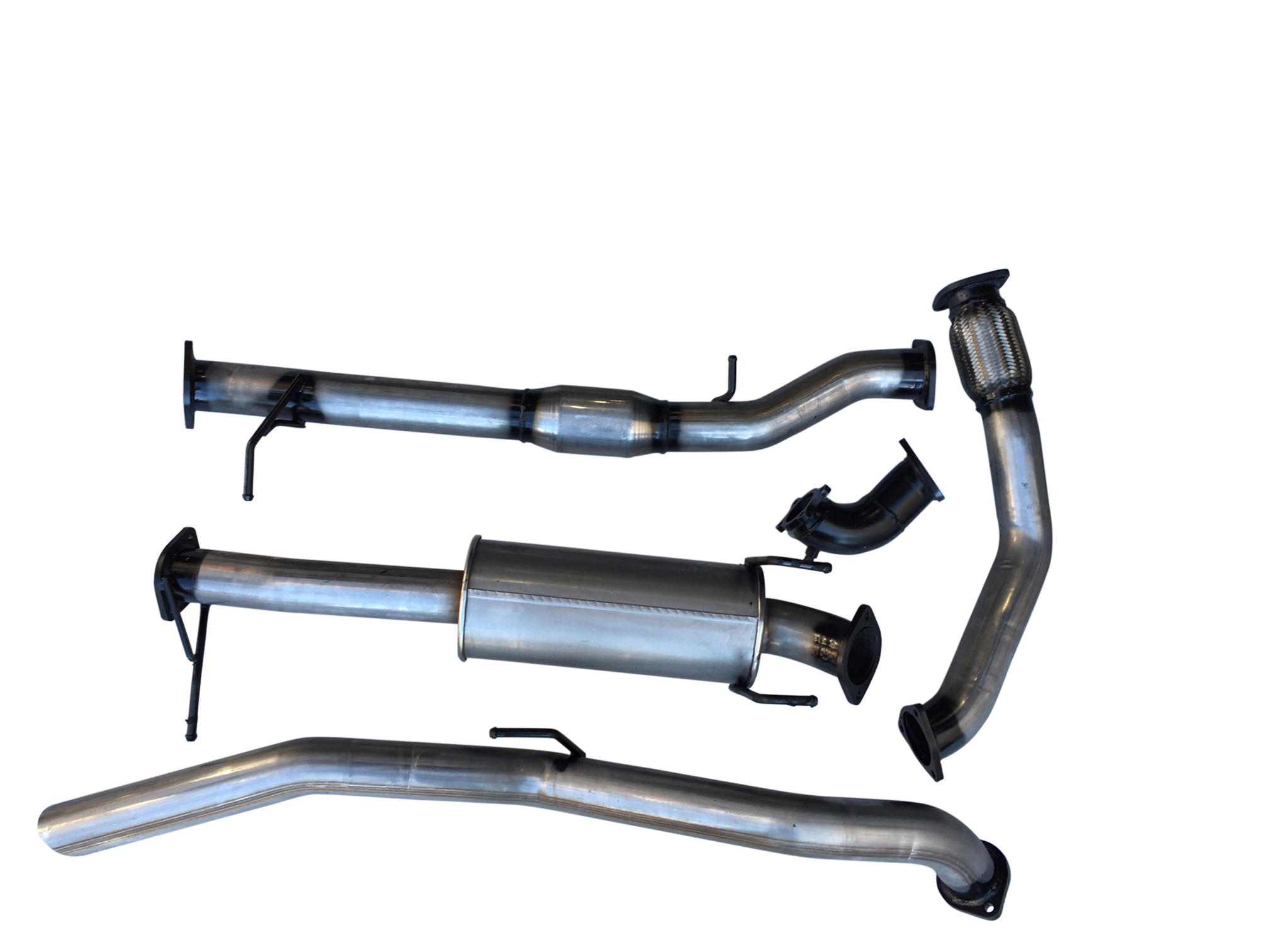 ford ranger 3.0 exhaust system