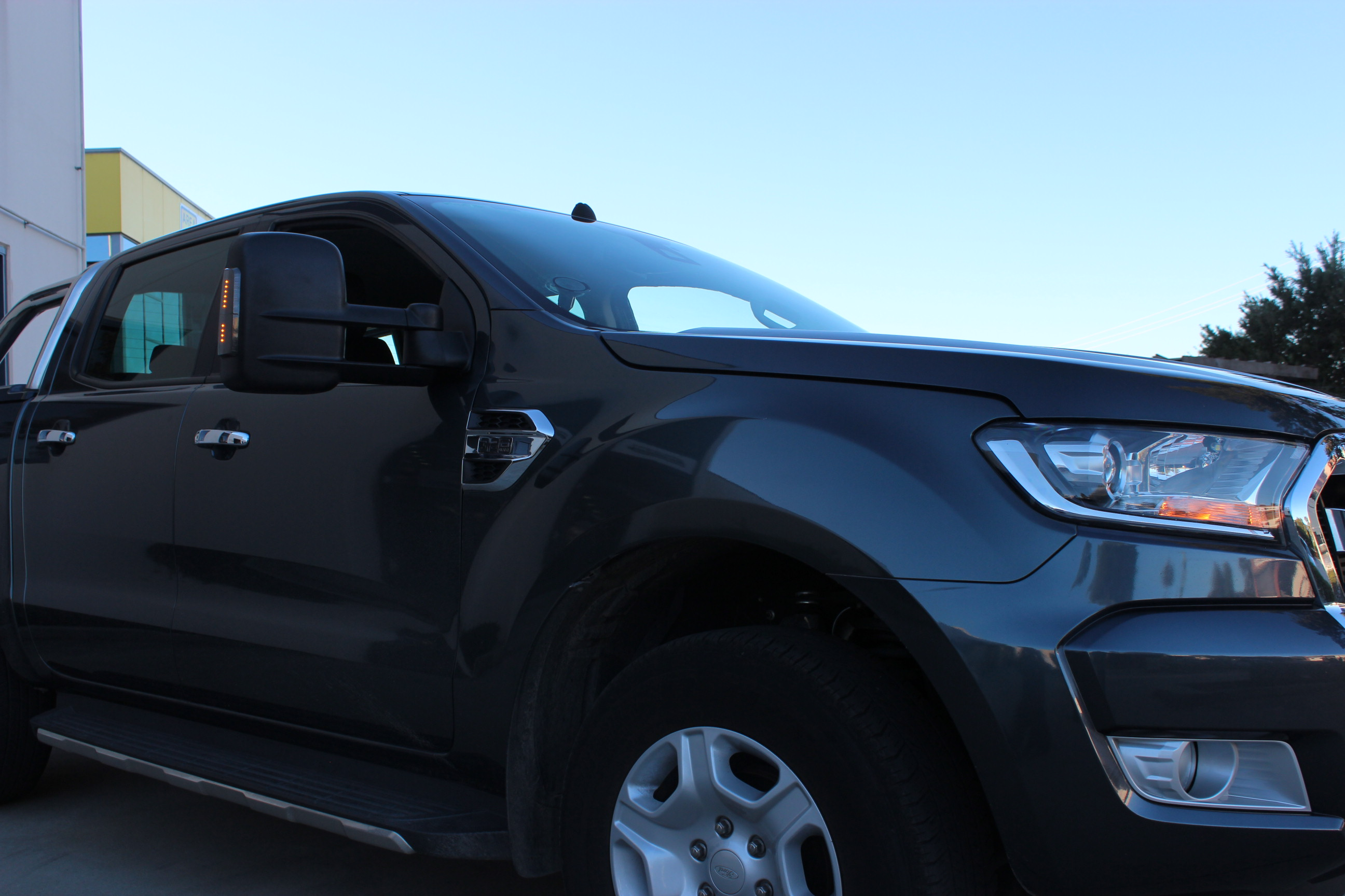 Ford Ranger Extendable Towing Mirrors